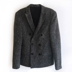 ASOS Textured double breasted blazer